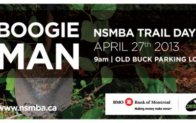 Boogieman Trail Day April 27th