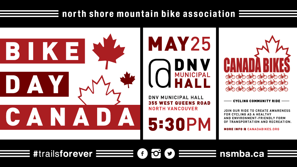 Bike Day in Canada – May 25th