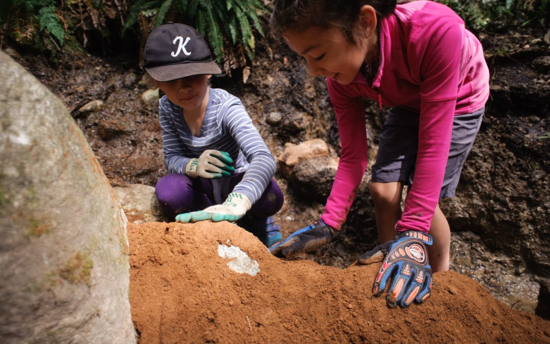 A community who digs together…