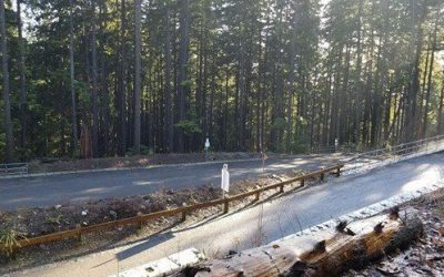 Notice from the DNV: Fromme Service Road (main gate to bike wash) closed July 2-7