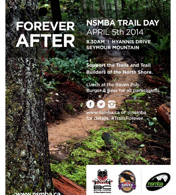 Forever After Public Trail Day April 5th