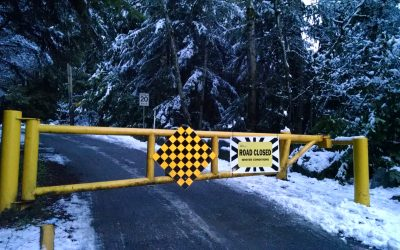 Fromme Parking Lot – Closed due to Winter Conditions