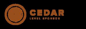 Cedar Sponsor Level NSMBA