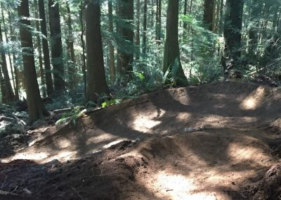 Fresh Berms on Lower Digger