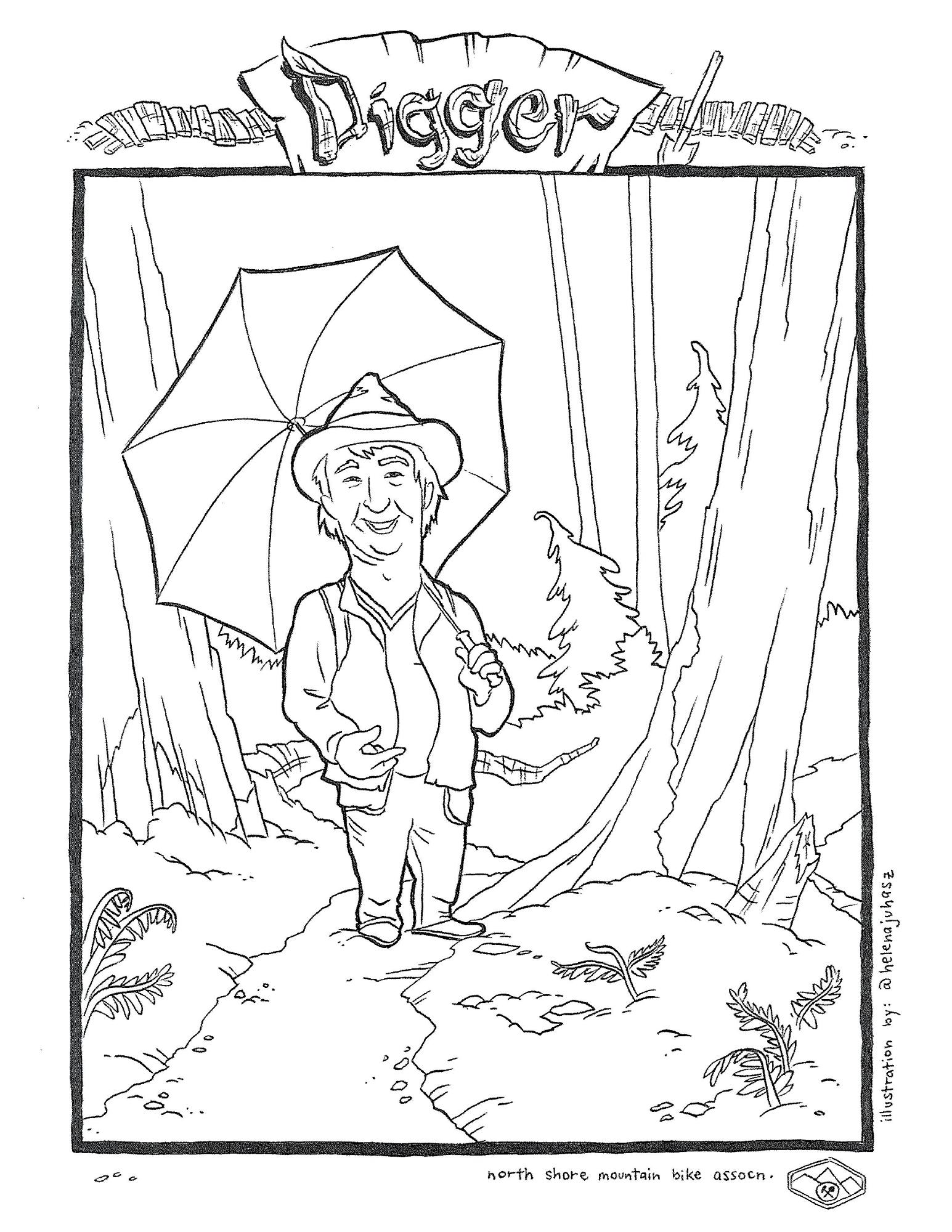 British Columbia Coloring Doodle Page | Social studies, Preschool ... | 2000x1545