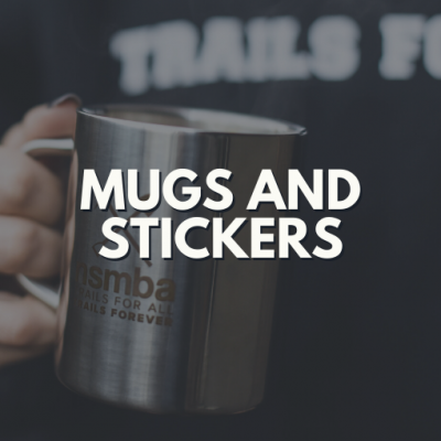 Mugs, Patches & Stickers